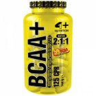 Bcaa Plus 125 cps 4+ Nutrition
