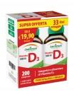 Vitamina D3 1000 UI Jamieson 2x1 conf.