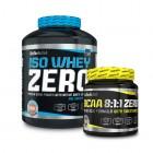 Iso Whey Zero 2,2 Kg Biotech Usa + Bcaa Zero 8:1:1 250 gr. OMAGGIO