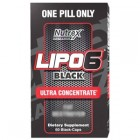Lipo 6 Black 60 cps Ultra Concenrate Nutrex