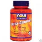 Beta-Alanine 750 mg 120 cps Now Food